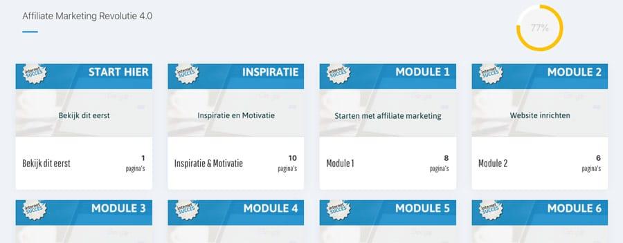 affiliate marketing revolutie login